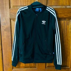 Adidas 3 Stripes Zip-Up Jacket
